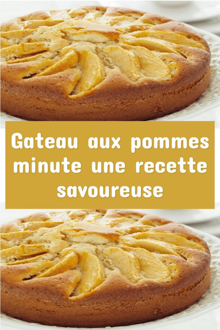 Gateau aux pommes minute une recette savoureuse