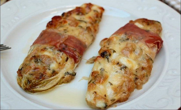 Endives farcies à l'italienne recette facile