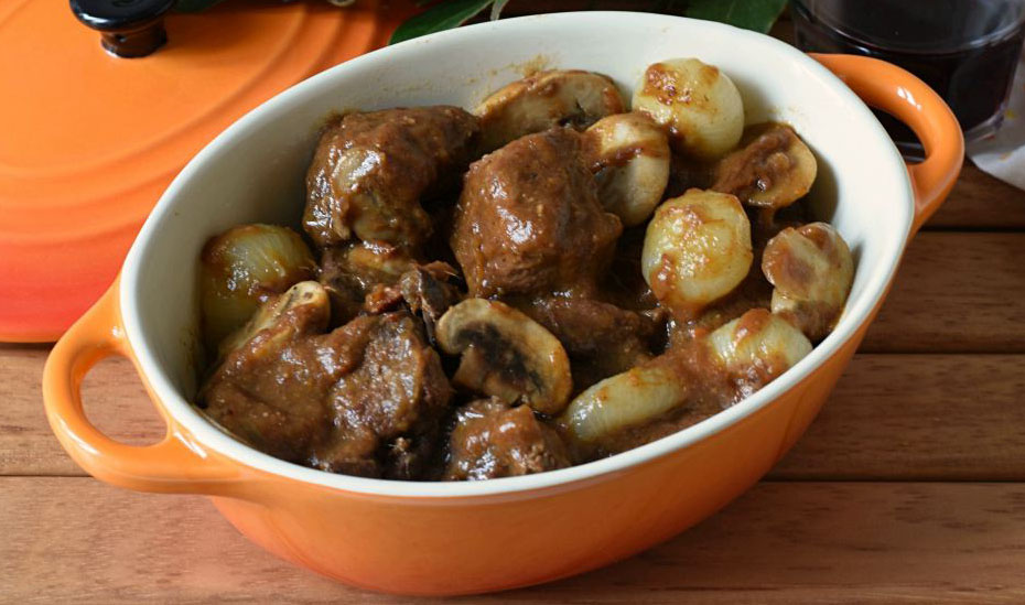 Recette bœuf bourguignon traditionnelle et à la mijoteuse