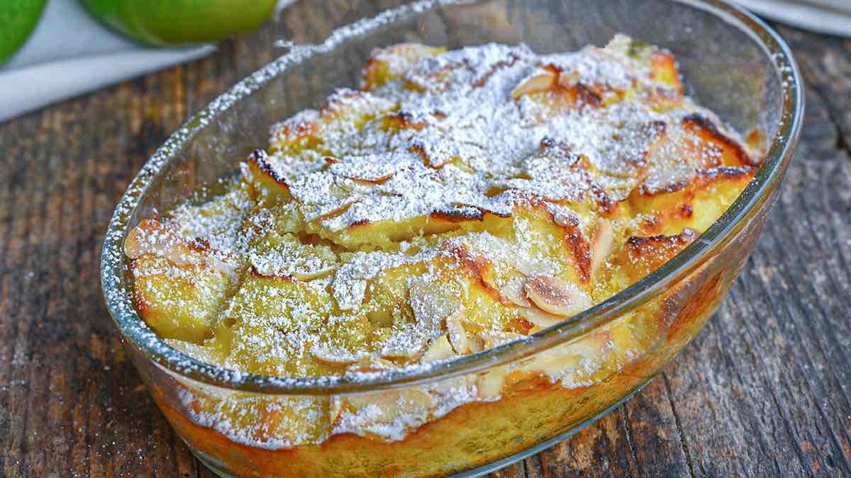 Tarte aux pommes vénitienne recette facile