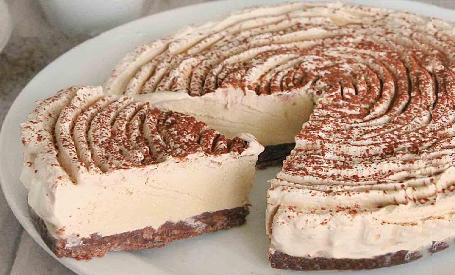 Gâteau sans cuisson au café recette facile