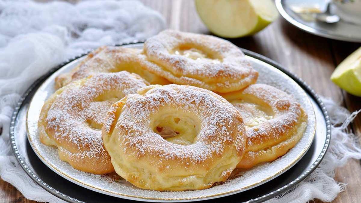 Recette beignets aux pommes au four de mamie