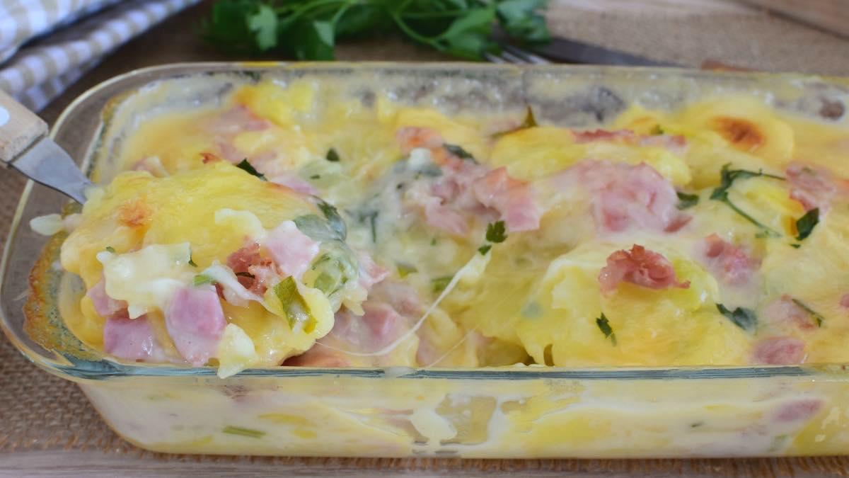 Recette pommes de terre à la carbonara