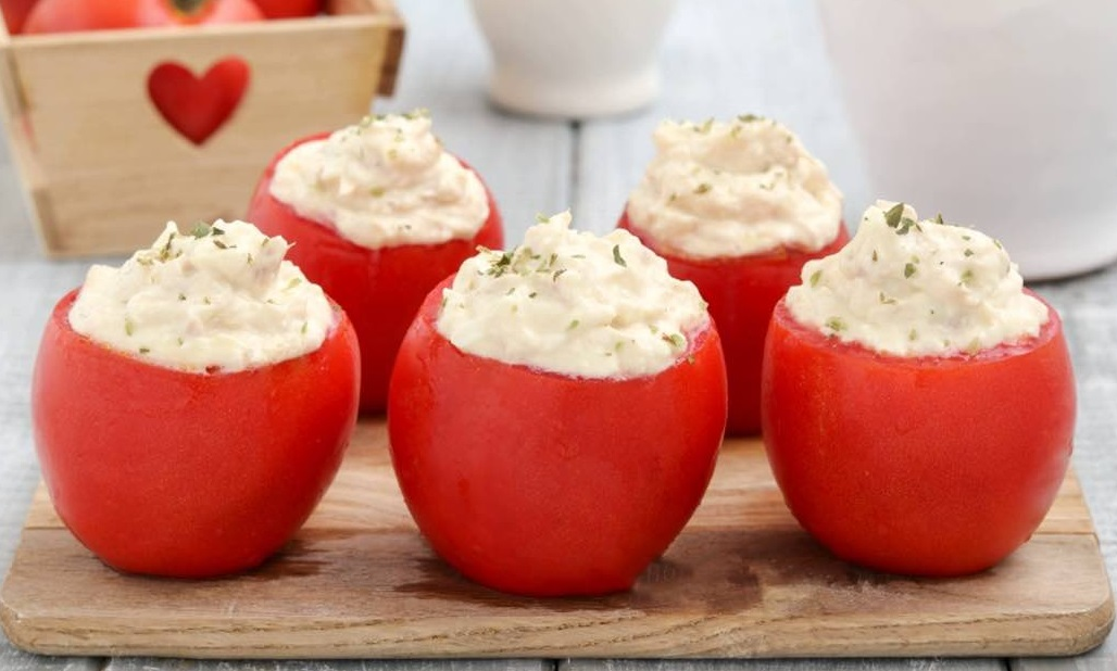 Recette tomates farcies au thon et au fromage