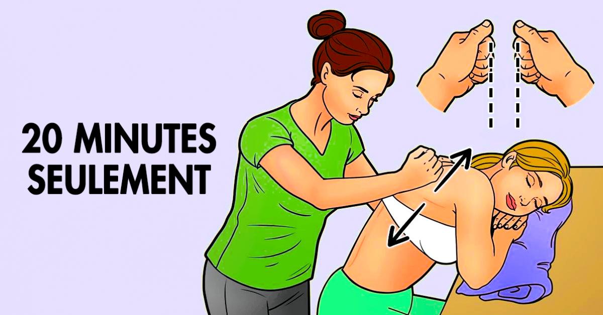 8 techniques de massages pour diminuer le stress et l'épuisement