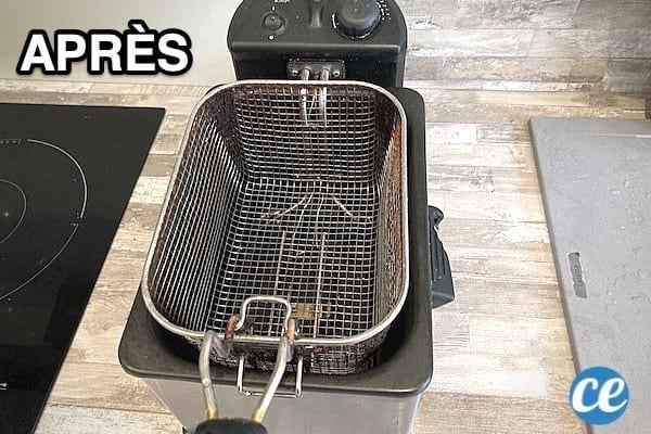 Friteuse Très Sale ? L'Astuce Pour la Nettoyer à Fond SANS Effort