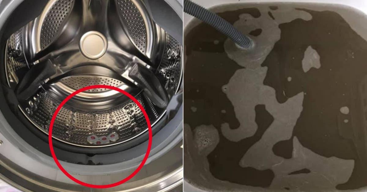 Voici pourquoi vous devriez mettre 4 pastilles pour lave vaisselles dans votre machine à laver