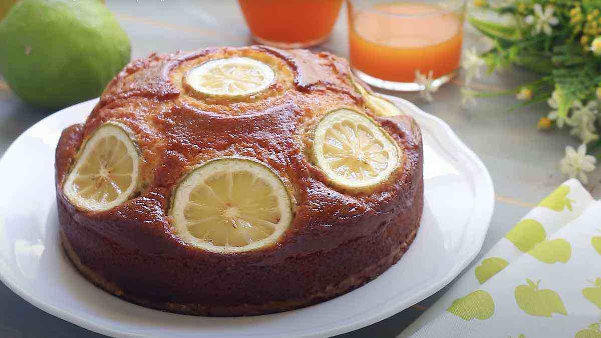 Gâteau 7 pots au citron facile et délicieux