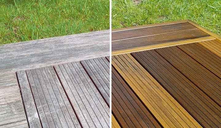 Voici comment nettoyer en profondeur une terrasse en bois