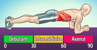 10 Exercices pour brûler la graisse abdominale sans devoir sortir courir