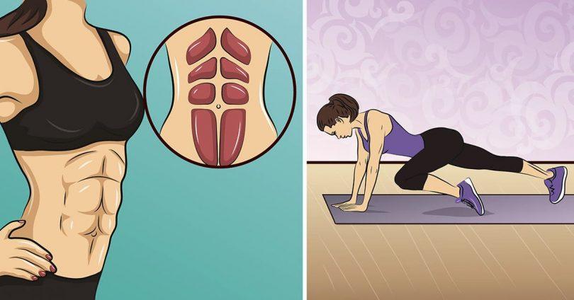 9 exercices pour brûler la graisse abdominale