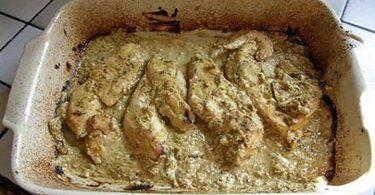 Filets de poulet a la moutarde simple et facile