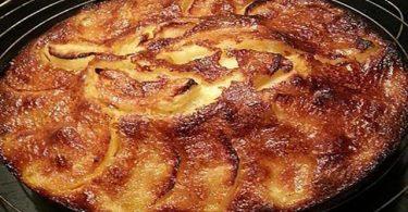 Gâteau mamette aux pommes une recette normande